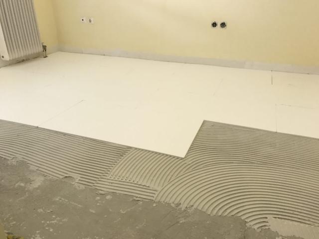ενδοδαπέδια θέρμανση, θερμαινόμενο πάτωμα