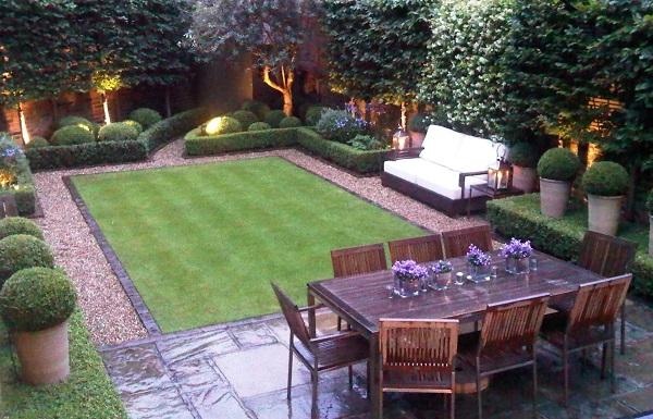 διαμόρφωση εξωτερικού χώρου , διαμόρφωση κήπου